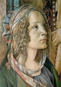 Szent Katalin kép: Sandor Botticelli